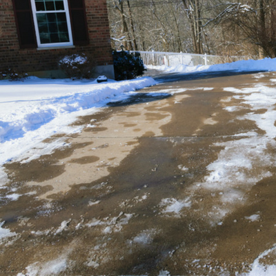 The safety of your driveway shouldn't compromise your lawn.